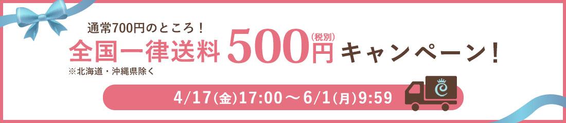 送料一律500円キャンペーン